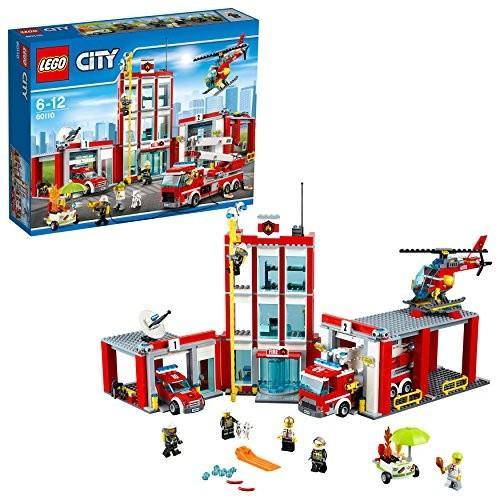 レゴ (LEGO) シティ 消防署 60110 新品