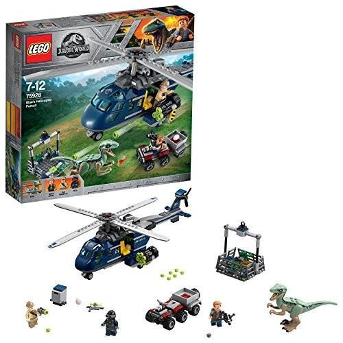 レゴ(LEGO)ジュラシック・ワールド ブルーのヘリコプター追跡 75928 新品