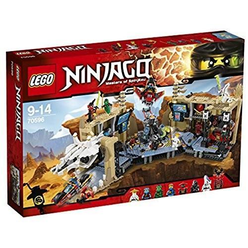 レゴ (LEGO) ニンジャゴー 洞窟基地 ニンジャベースX 70596 新品