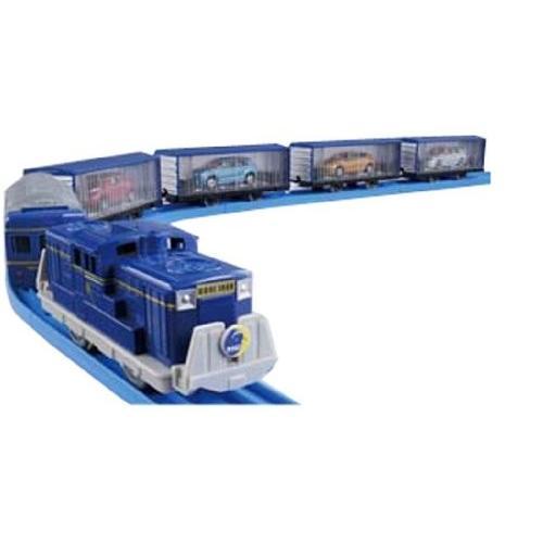 プラレール いっぱいつなごうトミカ搭載貨車セット 新品