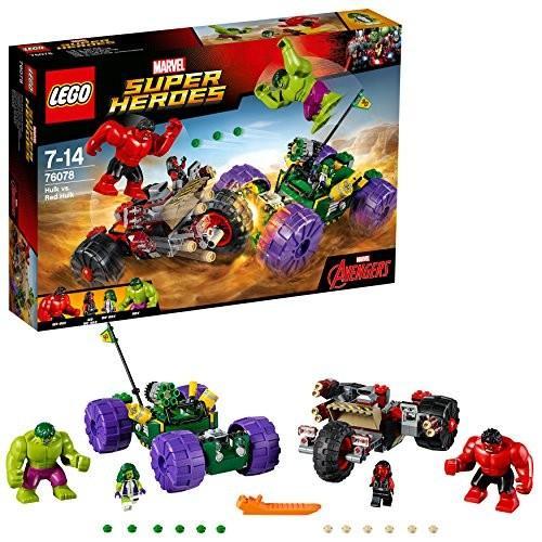 レゴ (LEGO) スーパー・ヒーローズ ハルク vs レッドハルク 76078 新品