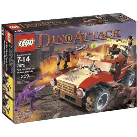 レゴ (LEGO) ダイノ・アタック ファイヤー・ハマーvs.ミュータント・リザード 7475 新品