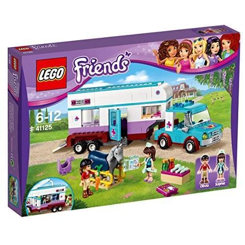 レゴ (LEGO) フレンズ 獣医さんのトレーラークリニック 41125 新品
