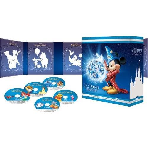 D23 Expo Japan 2015開催記念 ディズニー ブルーレイ·ベストセレクション Vol.2  (Blu-ray) 新品