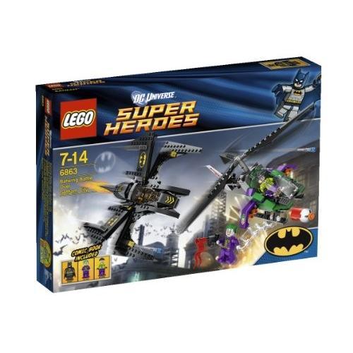 レゴ (LEGO) スーパー・ヒーローズ バットウィング ゴッサム・シティーでの空中戦 6863 新品商品