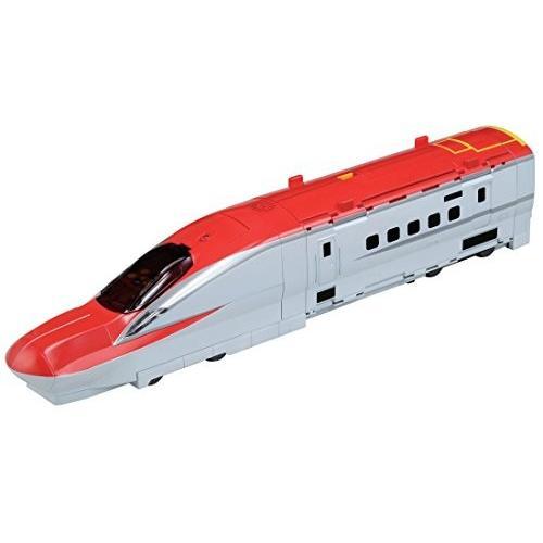 プラレール 新幹線変形! メガデカE6系ステーション 初回版 新品商品