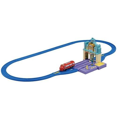 プラレール チャギントン タッチDE!トーク ウィルソンとヴィーのおしゃべりトンネルセット 新品商品