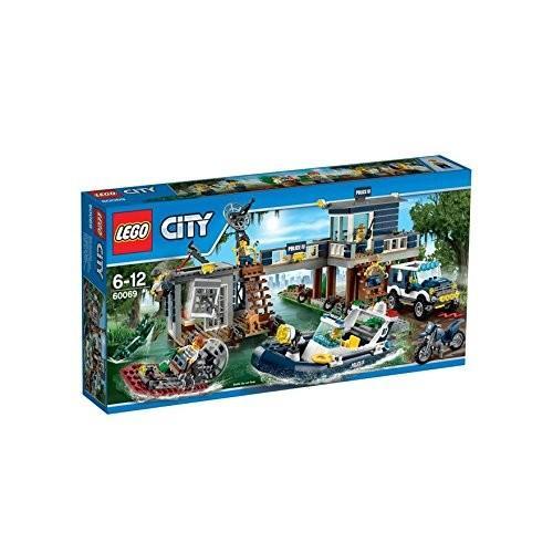 レゴ (LEGO) シティ 沼地のポリスステーション 60069 新品商品