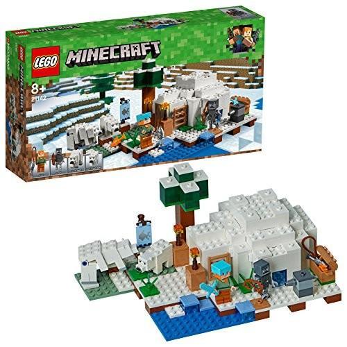 レゴ(LEGO) マインクラフト 北極のイグルー 21142 新品商品