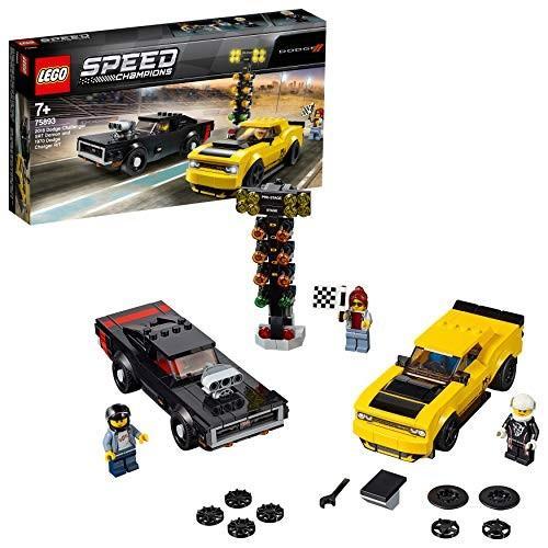 レゴ(LEGO) 2018 ダッジ・チャレンジャー SRT デーモンと 1970 ダッジ・チャージャー R/T 75893 新品商品