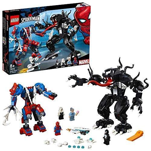 レゴ(LEGO) スーパー・ヒーローズ スパイダーマン vs.ヴェノム 76115 新品商品