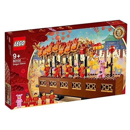 レゴ(LEGO) アジアンフェスティバル 龍舞 80102 新品商品