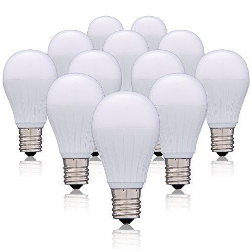 アイリスオーヤマ LED電球 口金直径17mm 50W形相当 昼白色 広配光タイプ 12個セット 密閉形器具対応 LDA5N-G-E17-5T22P