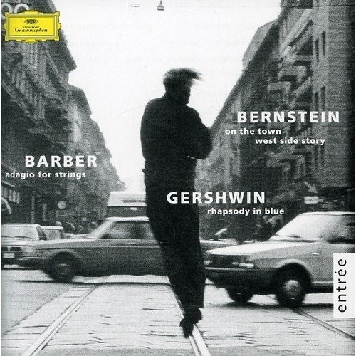 Barber: Adagio for Strings; Bernstein: On the Town; West Side Story; Gershwin: Rhapsody in Blue 中古商品 アウトレット