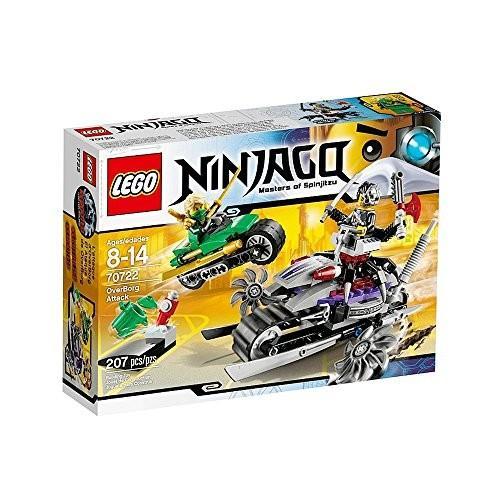 レゴ (LEGO) ニンジャゴー オーバー・ボーグの攻撃 70722 新品 未使用