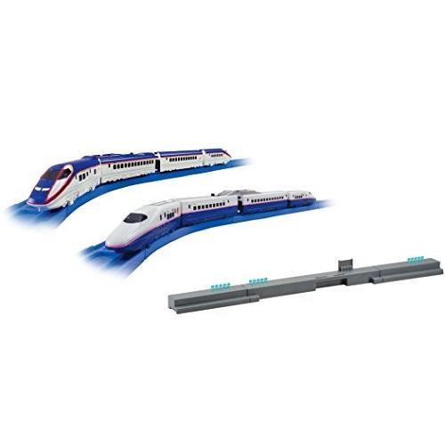 プラレールアドバンス E3系新幹線つばさ・E2系新幹線連結セット 新品 未使用