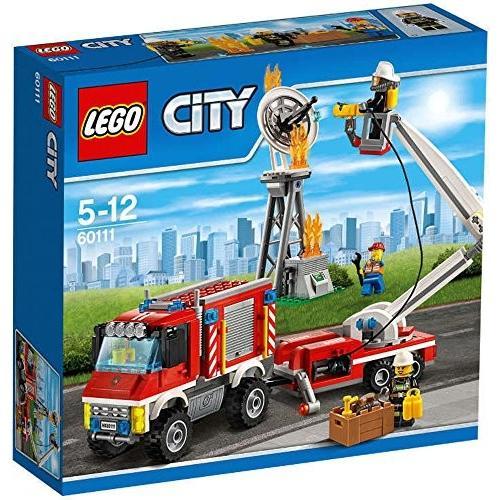 レゴ (LEGO) シティ 屈折はしご車 60111 新品 未使用
