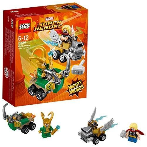 レゴ(LEGO) スーパー・ヒーローズ マイティマイクロ:ソー vs. ロキ 76091 新品 未使用