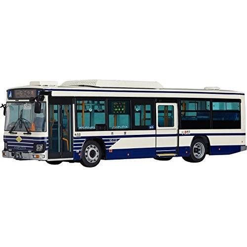 1/43 いすゞエルガ 名古屋市交通局市営バス 一般系統 1/43スケール ABS&ダイキャス製 塗装済み完成品ミニカー 新品 未使用