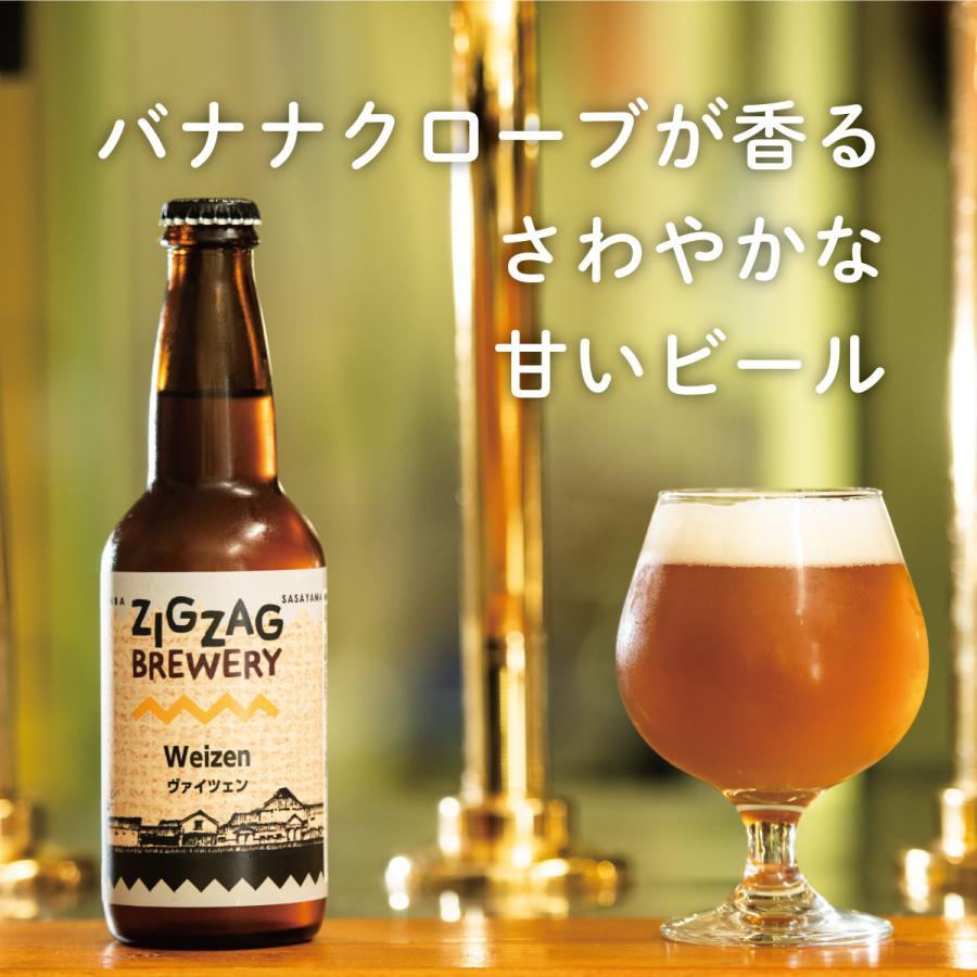 ヴァイツェン×6本/クラフトビール/無濾過/酵母/ジグザグブルワリー/ZIGZAGブルワリー/丹波篠山|zigzagbrewery|02