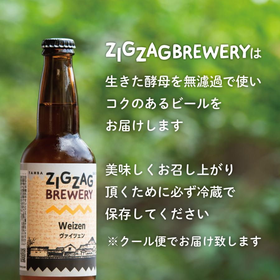ヴァイツェン×6本/クラフトビール/無濾過/酵母/ジグザグブルワリー/ZIGZAGブルワリー/丹波篠山|zigzagbrewery|03