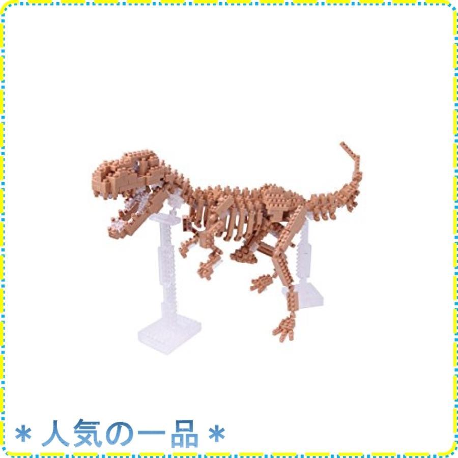 ナノブロック ティラノサウルス骨格モデル NBM-012|zisukuzi