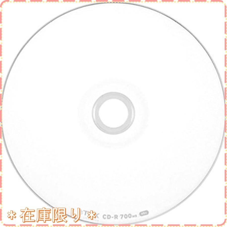 TDK データ用CD-R 700MB 48倍速対応 ホワイトワイドプリンタブル 50枚スピンドル CD-R80PWDX50PE zisukuzi 02