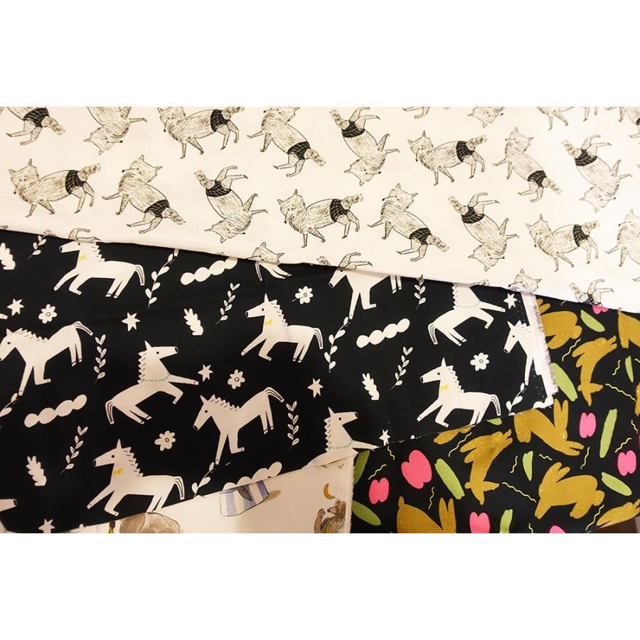ダブルガーゼ or シーチング 生地 切り売り 10cm単位 綿100% 日本製  オオカミのzoi|zoizoi|02