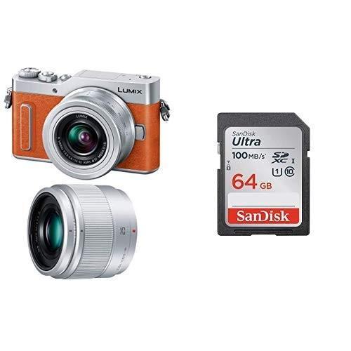 入荷中 SDカードセットパナソニック ミラーレス一眼カメラ ルミックス GF90 GF90 ダブルレンズキット 標準ズームレンズ/単焦点レンズ付属 オレンジ, ニシハラチョウ:35a094c0 --- grafis.com.tr
