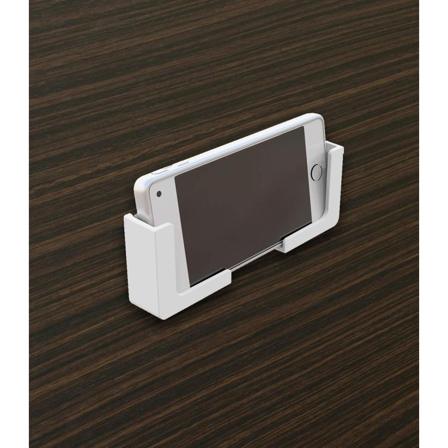 東和産業 浴室用ラック ホワイト 約5×2.3×5cm 磁着SQ マグネット スマートフォンホルダー 39200|zwink|03