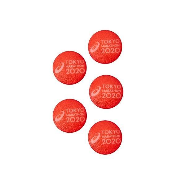 【P5倍+お得クーポン】アシックス ランニング アクセサリー TM ゼッケンスナップ 3013A565 601|zyuen1