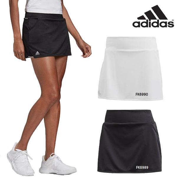 P3倍+10%OFFクーポン発券中 アディダス レディース テニス ウェア クラブ CLUBSKIRT スカート TENNIS モデル着用 注目アイテム FVX01 爆買いセール