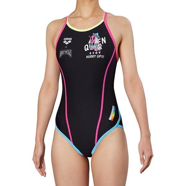 ◎■■19年秋冬 アリーナ ジュニア競泳水着 練習用 FSA−9603WJ QUEN