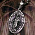 不思議のメダイ:1830年パリのカタリナ・ラブレ修道女の前に聖母マリアが現れ、この姿を基にしてメダイ...