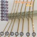 K18 No.1 45cm chain ...