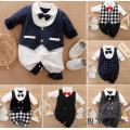 ベビー服 ロンパース カバーオール フォーマル 男の子 赤ちゃん スーツ キッズ 60cm 70cm...