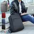 ビジネスリュック バッグ 通勤 通学 大容量 薄型 出張 撥水 軽い USBポート 充電 軽量 丈夫...