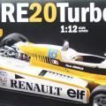 1/12 ルノー F1 RE20(...