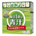 特徴 大麦若葉、緑茶、ケール、ブロッコリー、ほうれん草、はちみつ、豆乳の7種類の国産素材を使用し水に...
