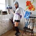 【送料無料】銀魂 銀さん女装 衣装 コスプレ 仮装 和装
