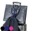バックと、かさばる洋服を一緒にスーツケースに装着できるベルトセットです。バックをとめるベルトと、洋服...