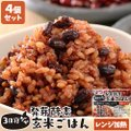 レンジで温めるだけ 3日寝かせ発芽酵素玄米ごはん 1食125g×4個 レトルト 常温タイプ 無添加 ...