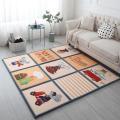 子供用マット1枚漫画パターン マット置き畳 ユニッ 畳半畳 正方形  水拭き可 汚れにくい ペット畳...