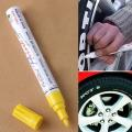 タッチ アップ タイヤ マーカー カー ペイント ペン スクラッチ 修理|黄