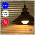 東芝ライテック LED電球 電球形LEDランプ 一般電球 密封形器具対応 電球色 口金E26 60W...