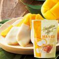 ハワイアンホースト ホワイトチョコがけマンゴー 1袋 ハワイ お土産|マカダミアナッツチョコレート ...