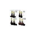 LEDバルブ デイライト フォグランプ専用 イエロー ホワイト 2色フォグ ダブルカラー 角度調整可...