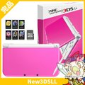 New3DSLL Newニンテンドー3DS LL ピンク×ホワイト(RED-S-PAAA) 本体 完...