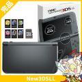 New3DSLL 本体 中古 付属品完備 メタリックブラック New ニンテンドー3DS LL RE...