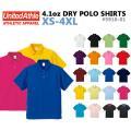 【XS-XL】United Athle(ユナイテッドアスレ)4.1オンス ドライ ポロシャツ 【59...